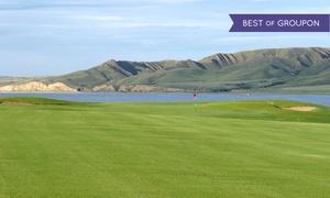 Sask Landing Golf Resort: 18 Holes of Golf for 2 or 4 with Cart, Valid Weekends or Weekdays at Sask Landing Golf Resort (Up to 50% Off)