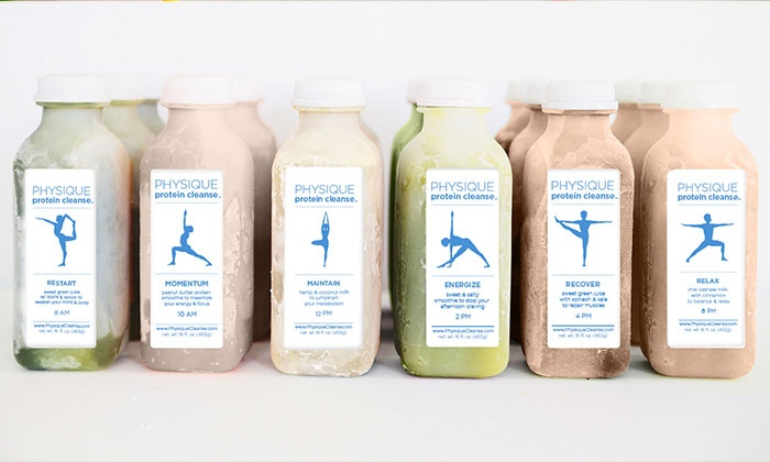 Raw Generation: Sample Six-Pack of Juices and Smoothies, or Three-Day Physique Paleo Cleanse from Raw Generation (Up to 59% Off)