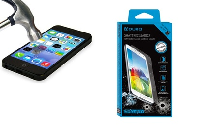ShatterGuardz Tempered-Glass Screen Protector for Amazon Fire, iPhone, Samsung Galaxy, or Samsung Galaxy Note