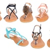 Women's Braided Gladiator Sandals