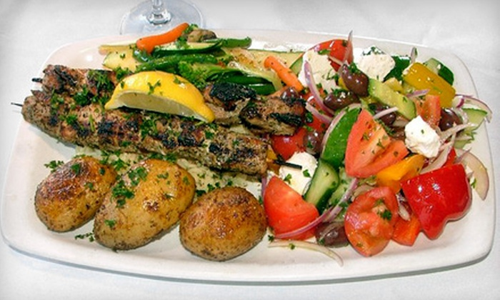 Gus & Guidos - Brantford: $10 for $20 Worth of Greek and Italian Dinner, Valid Sunday through Thursday at Gus & Guidos