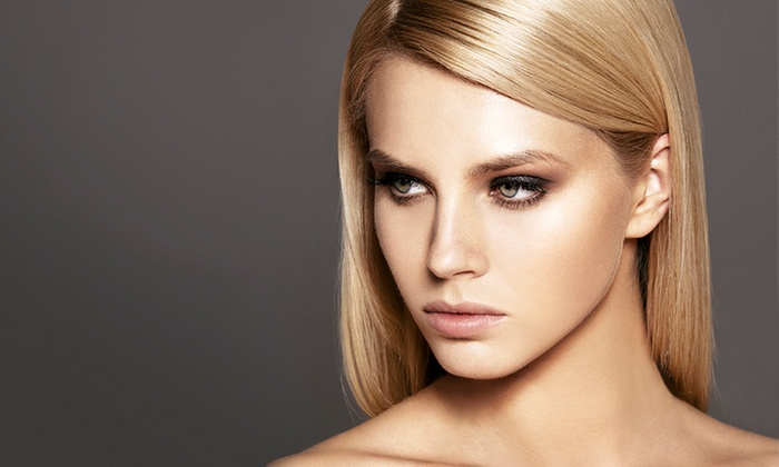 Lidia at Vanity Salon - Saratoga Springs: Women's Cut and Style or Keratin Color Lock, Smooth Treatment, and Style from Lidia at Vanity Salon (51% Off)