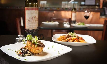 Wine Flight with Dinner Entrée at Relish Kitchen and Wine Bar (Up to 47% Off). Two Options Available.