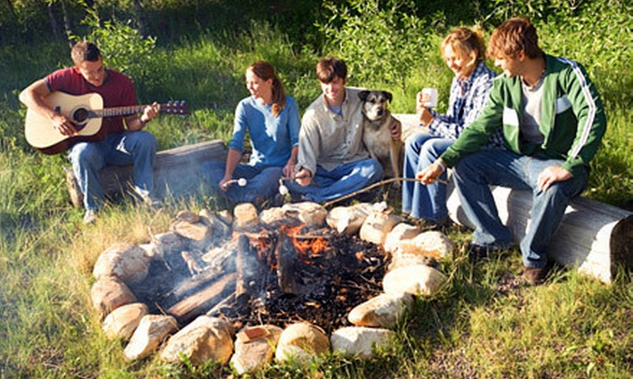 Camp Sandusky - Camp Sandusky: $33 for One-Night Cabin Rental with Breakfast, Campfire Kit, and S'mores Supplies at Camp Sandusky (Up to $74.02 Value)