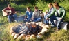 Camp Sandusky - Uptown Leamington: $33 for One-Night Cabin Rental with Breakfast, Campfire Kit, and S'mores Supplies at Camp Sandusky (Up to $74.02 Value)