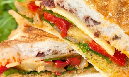 Sandwich Meal for Two or Four with Sides and Drinks at Mix n' Munch (41% Off)