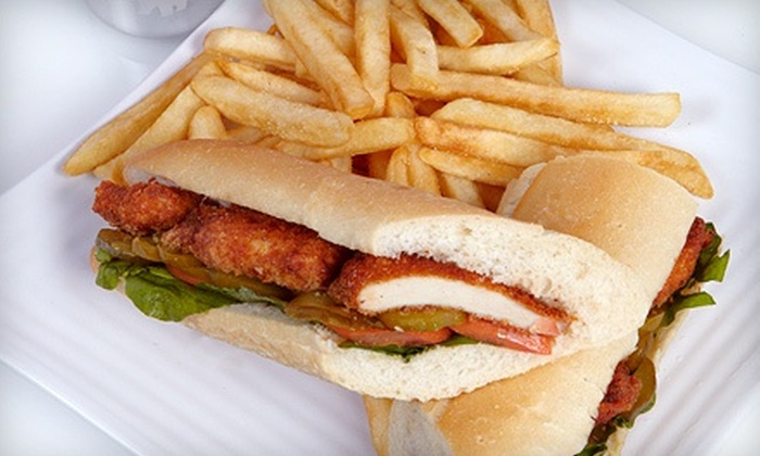 Schnitzel Express - Midtown : Schnitzel, Sandwiches, and Drinks at Schnitzel Express (50% Off). Two Options Available.