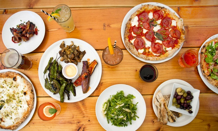 Brooklyn Central - Park Slope: Pizza Meal & Drinks for Two, or $13 for $20 of Carryout at Brooklyn Central (Up to 53% Off)