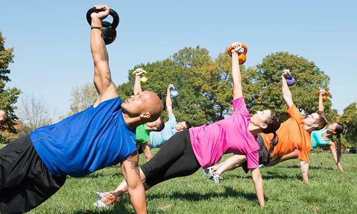 Lifted Boot Camp - Charter Oak: Four Weeks of Unlimited Boot-Camp Classes at Lifted Boot Camp (67% Off)