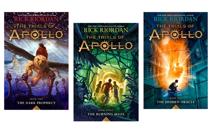 Image result for trials of apollo books
