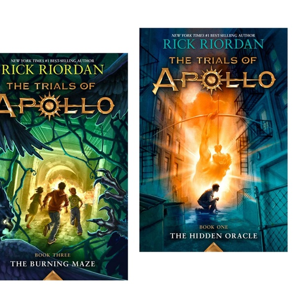 The Trials of Apollo Series Kids' Books 1–3