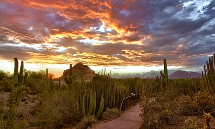 $45 for a One-Year Senita Club Family Membership to Desert Botanical Garden ($90 Value)