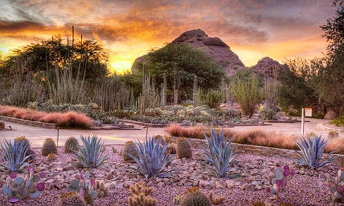 Desert Botanical Garden - Phoenix: $35 for a One-Year Senita Club Family Membership for to Desert Botanical Garden ($75 Value)