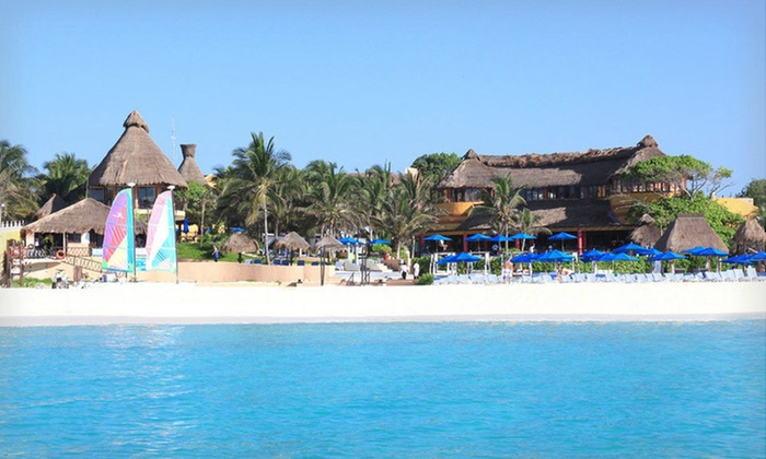 The Reef Playacar Resort and Spa - The Reef Playcar Resort and Spa: 4-, 5-, or 7-Night All-Inclusive Stay at The Reef Playacar Resort and Spa in Playa del Carmen, Mexico