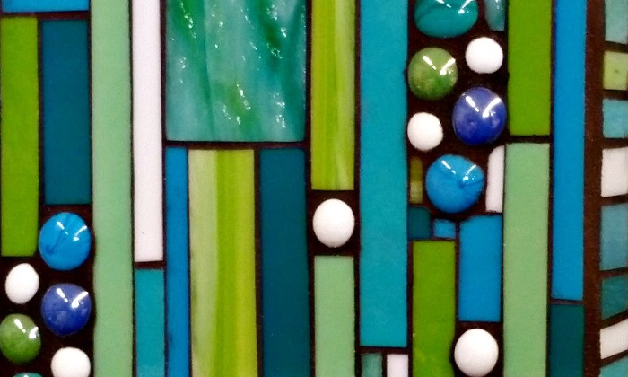 Terraza Stained Glass - Baltimore : BYOB Introductory Mosaics-Making Class for One, Two, or Four at Terraza Stained Glass (Up to 57% Off)