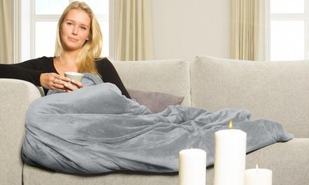 Vidabelle Premium Wellness-Kuschel-Heizdecke mit Überhitzungsschutz und 6 Temperaturstufen in der Farbe nach Wahl (Frankfurt)
