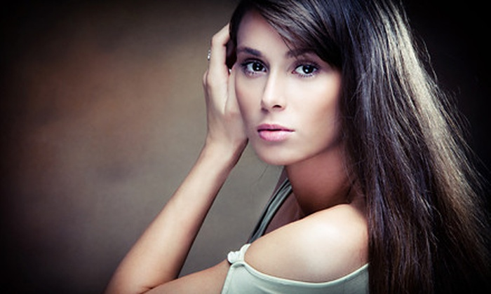 MarKirk Salon - White House Station: Haircut with Optional Full Color or Partial or Full Highlights, or Brazilian Blowout at MarKirk Salon (Up to 75% Off)