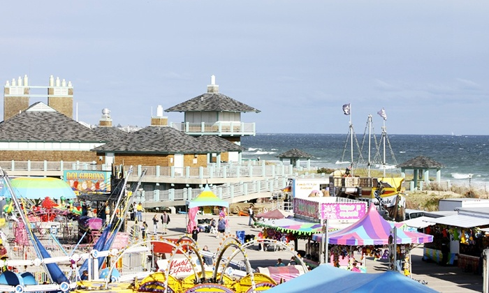 The Misquamicut Business Association - Misquamicut Beach: One-Day Visit to Misquamicut Fall Festival for Two, Four, or Six at Misquamicut Beach (Up to 48% Off)
