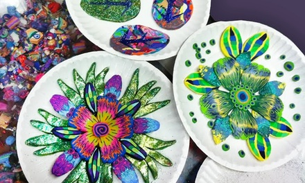 Two-Hour Art Class for One, Two, or Four at Clay Squared to Infinity (Up to 57% Off)
