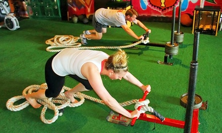 One or Two Months of Unlimited CrossFit Classes for One or Two at Studio 51 Fifty (Up to 70% Off)