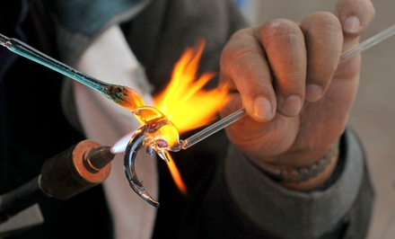 Intro to Flame-Working or Bead-Making Class for One or Two at Fiamma Art Glass (Up to 52% Off)