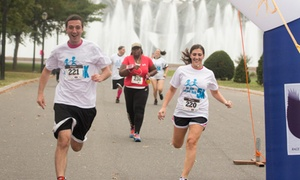 We Run for Hope 5K: One Admission to We Run for Hope 5K Run/Walk on June 5 with or without T-shirt (Up to 58% Off)