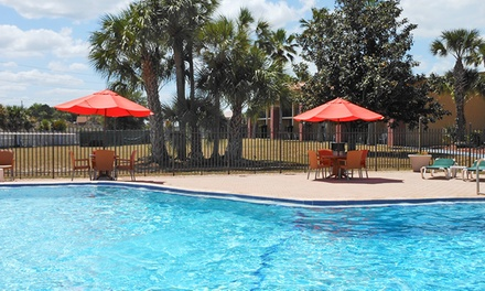 Stay at Ramada Davenport Orlando South in Florida. Dates into March.