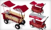Radio Flyer: $59 for $120 Toward a Custom Build-A-Wagon from Radio Flyer