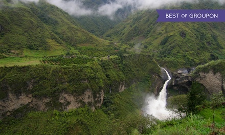 Groupon Deal: ✈ 9-Day Ecuador and Amazon Tour with Airfare and Some Meals from Gate 1 Travel. Price/Person Based on Double Occupancy.