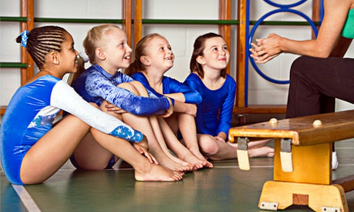 Bronco Elite Athletics - Northwest: Kids' Swimming or Gymnastics Lessons at Bronco Elite Athletics (Up to 48% Off). Three Options Available.