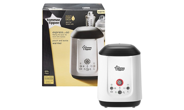 how to use tommee tippee bottle warmer instructions