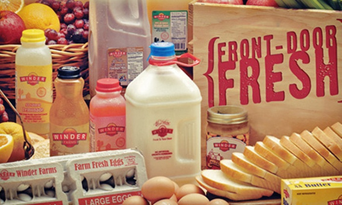 Winder Farms - Paradise: $19.99 for Five Deliveries with $10 Worth of Groceries Each from Winder Farms ($79.94 Total Value)