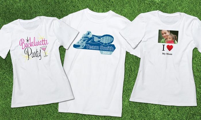 Custom Printed Premium Men's or Women's T-