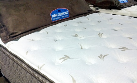 Twin-, Full-, Queen-, or King-Size Corsicana Eastbrook Mattress at New Comfort Furniture & Mattress (Up to 52% Off)
