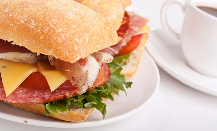 Fresh Italian Cuisine at The Fat Tuscan Cafe (50% Off). Two Options Available.