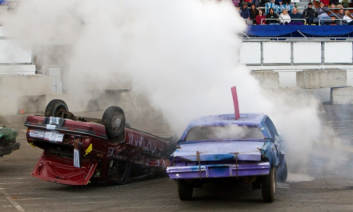Washington State Fair - Washington State Fair: $22 for Slamfest Demolition Derby Tickets for Two at the Washington State Spring Fair on April 18 or 19 ($45 Value)