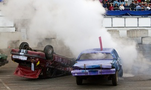 Washington State Fair: $22 for Slamfest Demolition Derby Tickets for Two at the Washington State Spring Fair on April 18 or 19 ($45 Value)