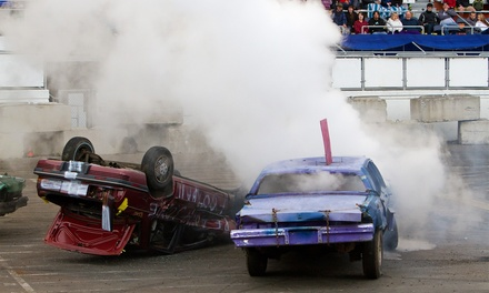 $22 for Slamfest Demolition Derby Tickets for Two at the Washington State Spring Fair on April 18 or 19 ($45 Value)