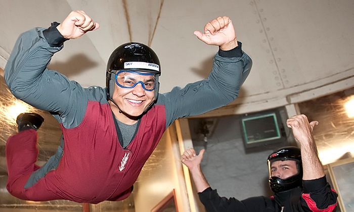 SkyVenture Arizona Indoor Skydiving - Eloy: Basic Flight Package for One or Two with DVD at SkyVenture Arizona Indoor Skydiving (Up to 48% Off)