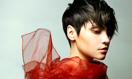 Haircut and Deep Conditioning with Options for Partial Highlights or Color at Hair by Strife (Up to 50% Off)