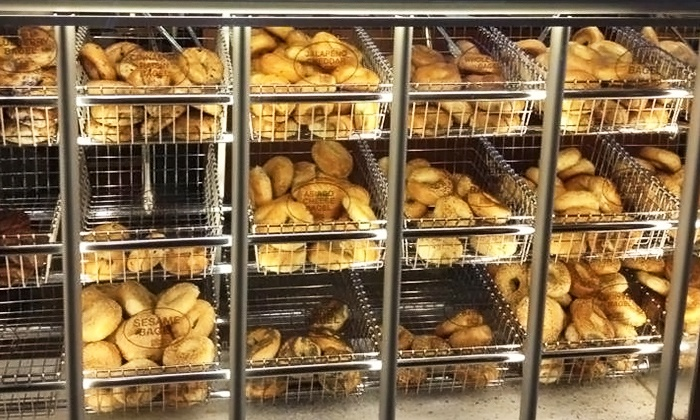 Bagels 'n Grinds - Severn: $15 for Two Groupons, Each Good for One Dozen Bagels at Bagels 'n Grinds ($25.98 Value)