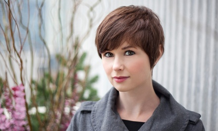 Haircut Package with Full Highlights at Studio 5 Salon (58% Off)