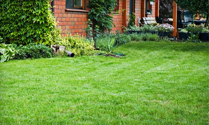 Prestige Lawn & Landscaping LLC - Detroit: Lawn Aeration with Seeding or a Lawn Cleanup with Mowing from Prestige Lawn & Landscaping LLC (Up to 55% Off)