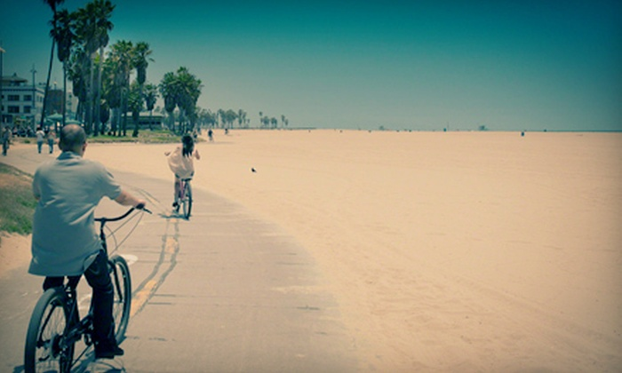 Venice Beach Station - Venice: $15 for a Full-Day Bicycle Rental from Venice Beach Station (Up to $35 Value)