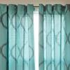 """Somerset Home 52""""x84"""" Metallic Grommet Panel Pair"""