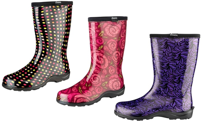 Sloggers Waterproof Gardening and Rain Boots
