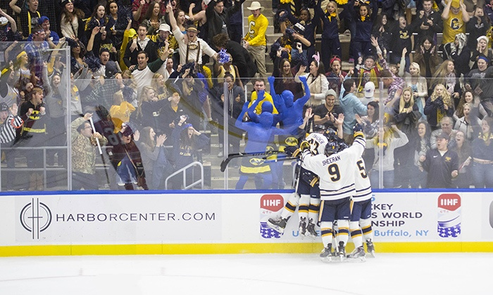 Canisius College Athletics - Multiple Locations: Canisius College Basketball or Hockey Game for Two with Hats (November 1–February 26)