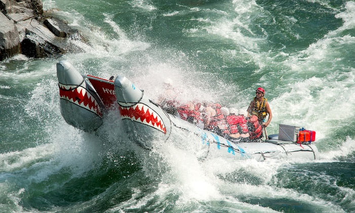Hyak River Rafting - Multiple Locations: Paddle- or Power-Rafting Trip for One, Two, Four, or Eight from Hyak River Rafting (Up to 56% Off)