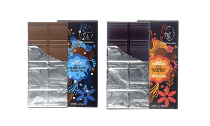 Max Brenner Chocolate Restaurant - Paramus Location: 3, 5, or 10 Gourmet Chocolate Bars at Max Brenner Chocolate Restaurant (Up to 49% Off)