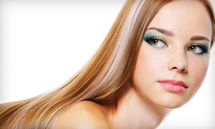Vella Salon and Day Spa - Selden: One or Three Keratin Treatments at Vella Salon and Day Spa (Up to 68% Off)